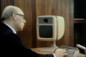 """""""Skype"""" in 1974."""